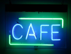 cafe sign to rent