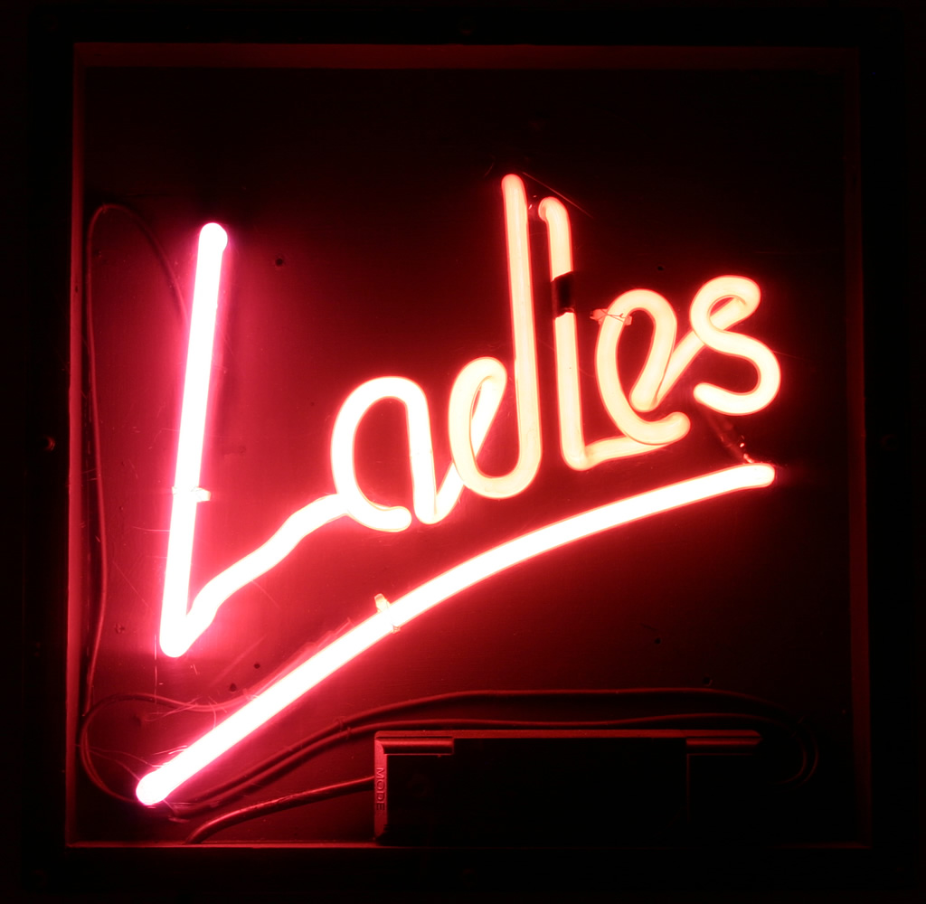 Neon circus hire neon signs neon sign hire neon ladies bathroom sign for hire aloadofball Image collections